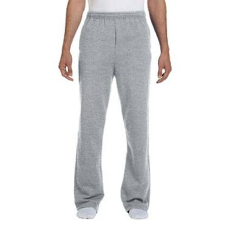 Jerzees Adult 8 oz. NuBlend® Open-Bottom Fleece Sweatpants (Green Sweatpants Kids)