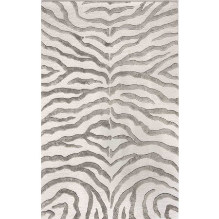 Nuloom Hand Tufted Plush Zebra Area Rug Or Runner