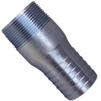 GENOVA 370415 Insert Adapter, 1-1/2 in Insert x MIP, 200 psi, Galvanized Steel