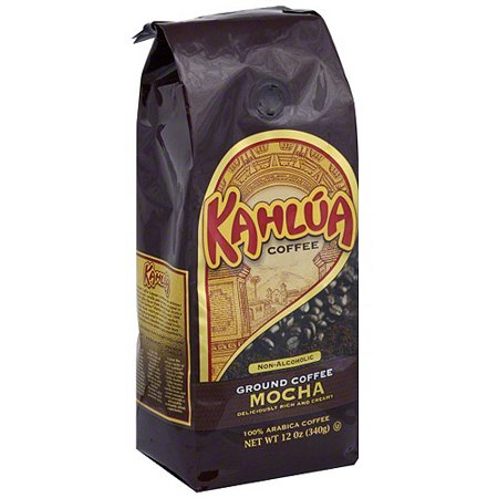 Kahlua Mocha Ground Coffee, 12 oz (Pack of 6) - Kahlua Halloween Drinks