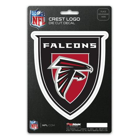 Atlanta Falcons Crest Logo Shield Decal - No - Crest Decal