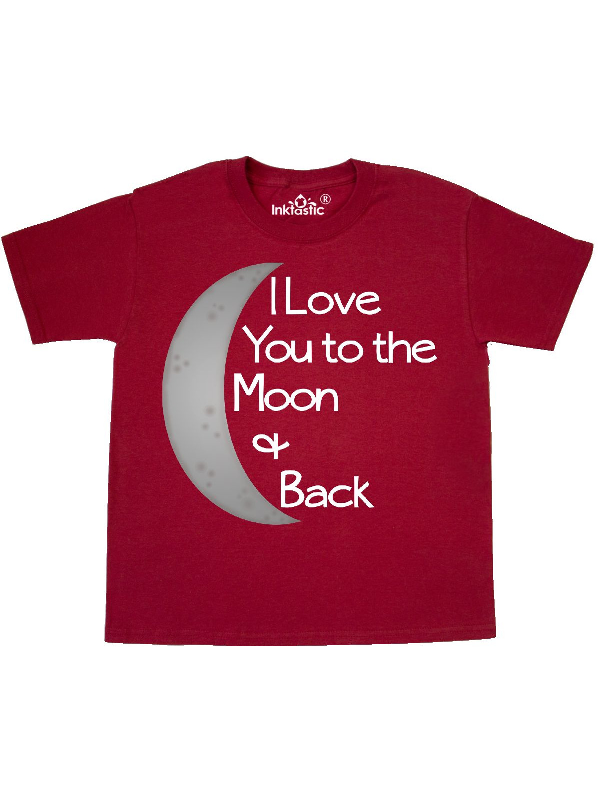 I love you to the moon & back. Youth T-Shirt