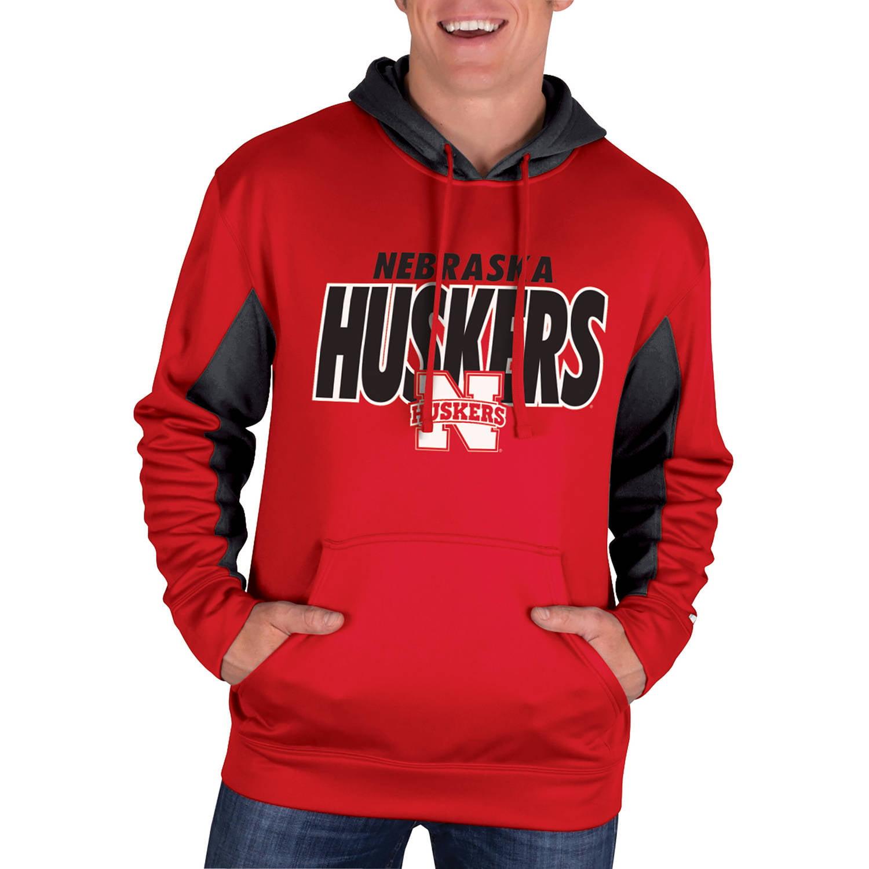 NCAA Nebraska Cornhuskers Men's Classic-Fit Pullover Impact Hood