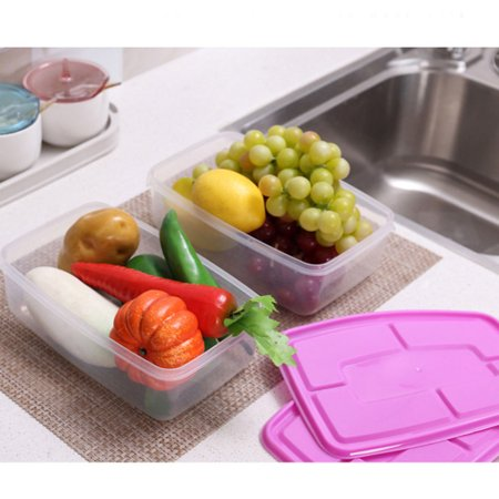 17 Pcs/Set Food Sealed Box with Cover Kitchen Tools Refrigerator Storage - image 2 of 8