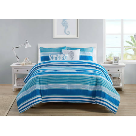 blue sheets Twin striped