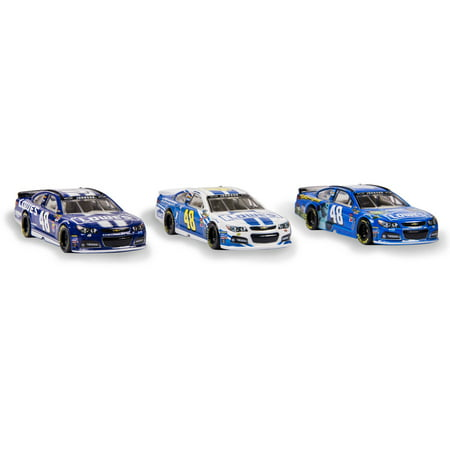 NASCAR 1:64 Collector Car, 3 Pack, #48 Jimmie (Nascar Twin Pack)