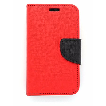 Open Mobile Wallet Case for Unimax Red