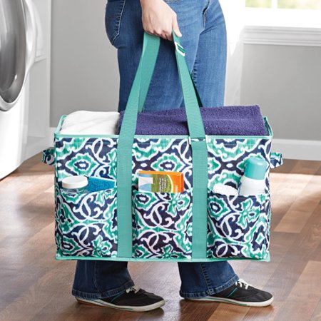 Mainstays Collapsible Utility Tote Assorted Walmartcom
