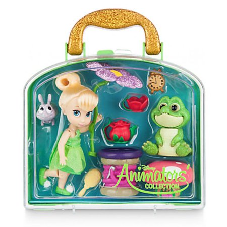 Disney Animators' Collection Tinker Bell Mini Doll Play Set New with Case ()
