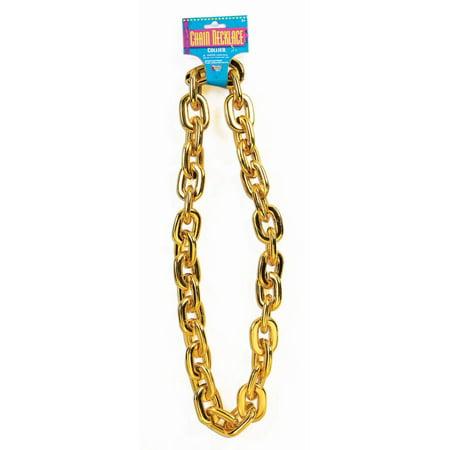 Halloween Jumbo Gold Chain](Fake Gold Tooth Halloween)