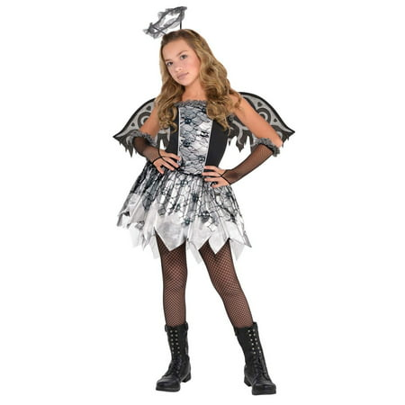 Fallen Angel Child Costume](Fallen Angel Makeup Ideas)