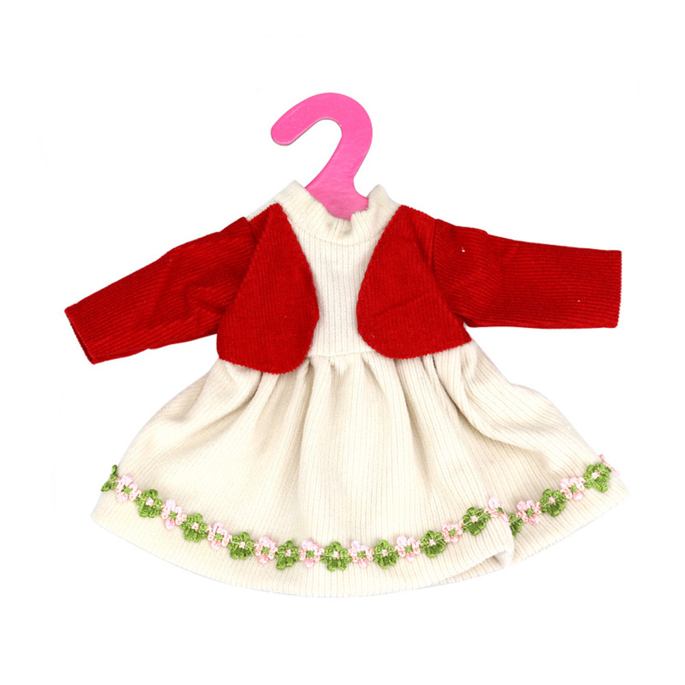 Mosunx Diy Doll Clothes Dress For 16 Inch Doll Baby Kids Gifts Skirt