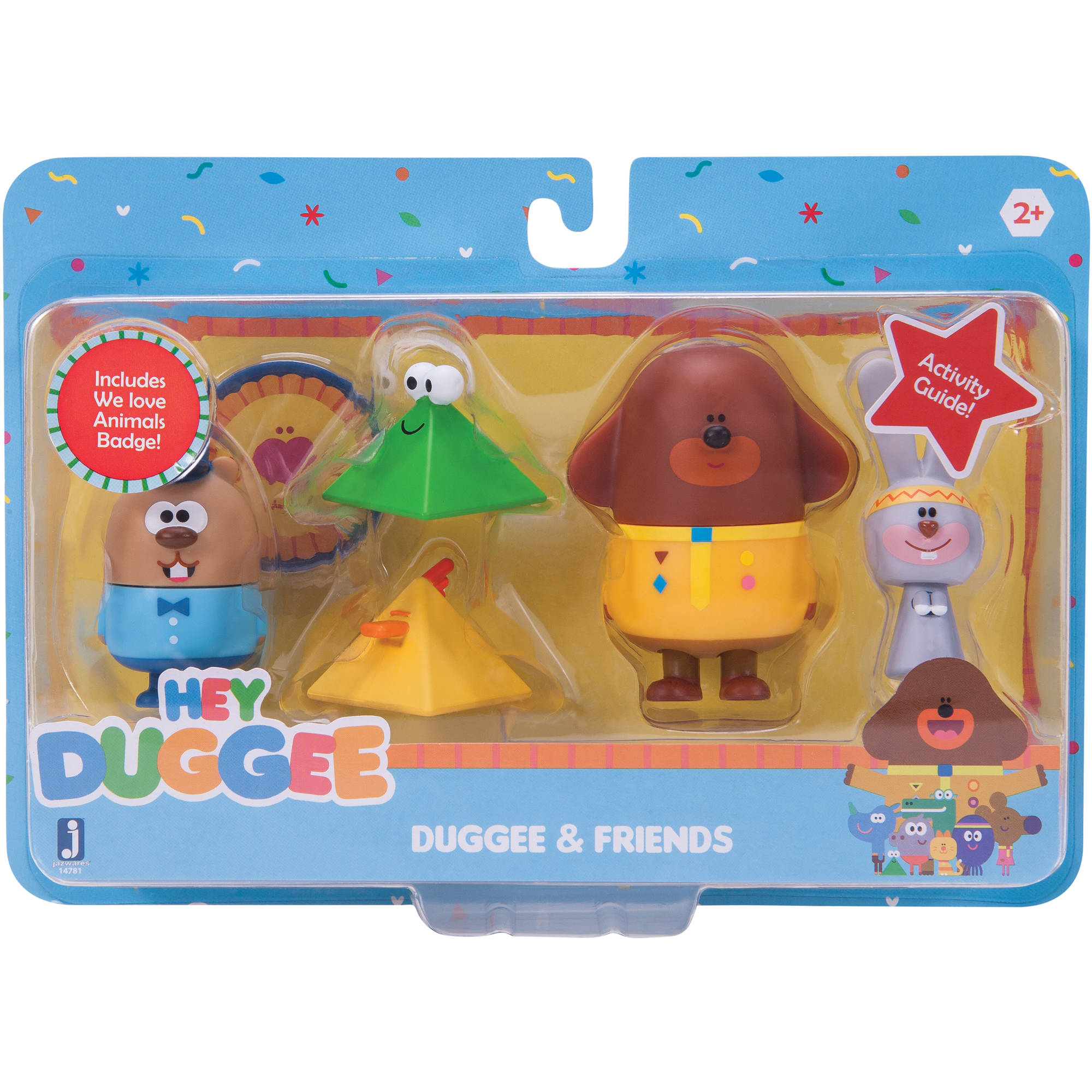 Hey Duggee Collectible, 5pk