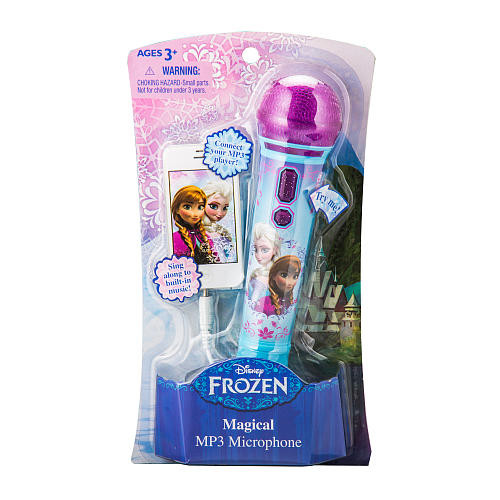 Disney Frozen MP3 Microphone
