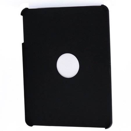 Icon Apple iPad Style Grip with Logo Hole - Black- XSDP -ASD334 - The ICON Apple iPad Style Grip Case is a classy form-fitting shell that protects your iPad from