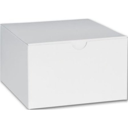 Deluxe Small Business Sales 250-050503C-9 3 x 5 x 5 in. One-Piece Gift Boxes, White](Small Gift Box)