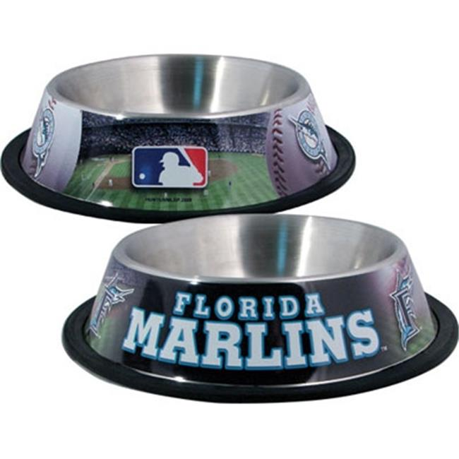 DoggieNation 716298674013 One Size Florida Marlins Dog Bowl - Clearance