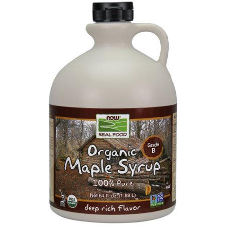 NOW Foods Maple Syrup Grade A Dark (Prev Grade B), 64 Fl Oz