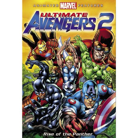Ultimate Avengers 2 (Rise of the Panther) (The Vision Avengers 2)