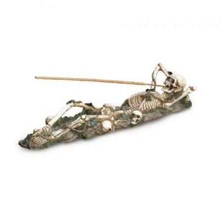 Gifts & Decor Skeleton Incense Burner Holder Collector Halloween Gift