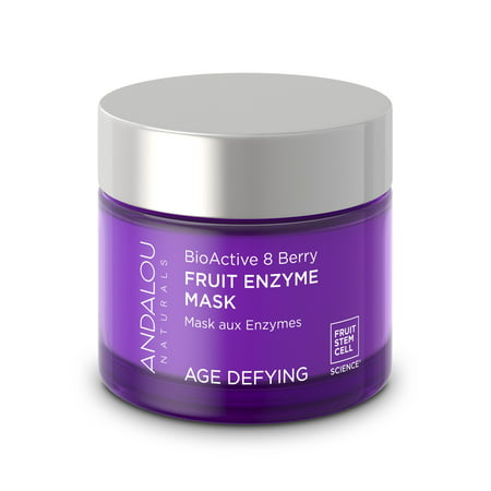 Andalou Naturals BioActive 8 Enzyme Mask, Berry Fruit, 1.7