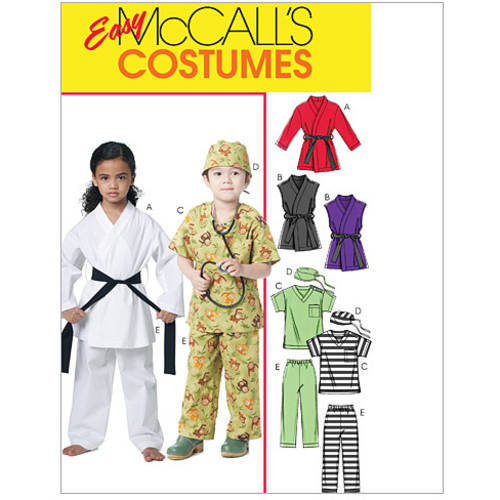 McCall's Children's, Boys' and Girls' Costumes, CL (6, 7, 8)
