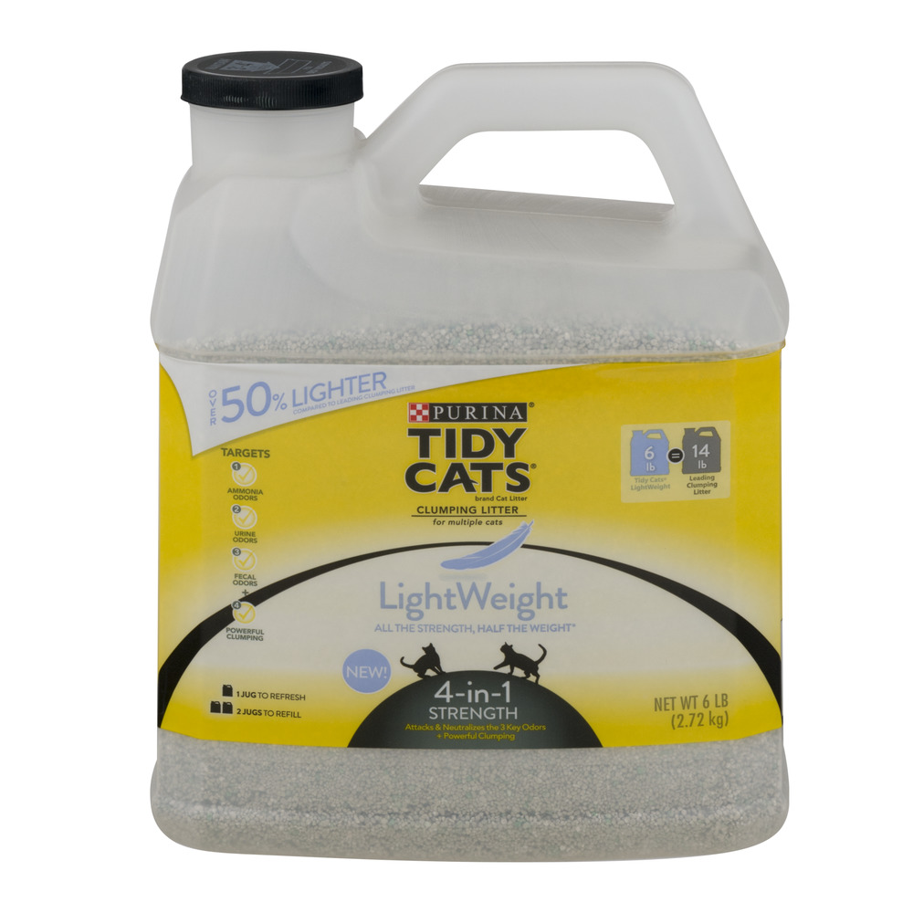 Purina Tidy Cats Clumping Litter LightWeight 4 in 1