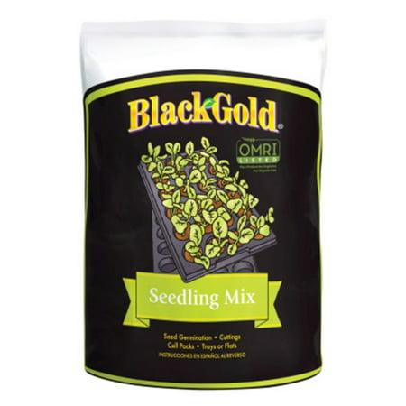 Black Gold Seedling - Black Gold 16 Quart Seedling Mix