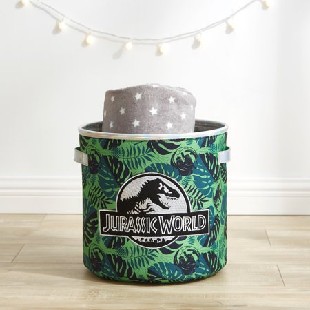 Jurassic World Storage Cube, Holographic and Embroidered](Jurassic Worl)