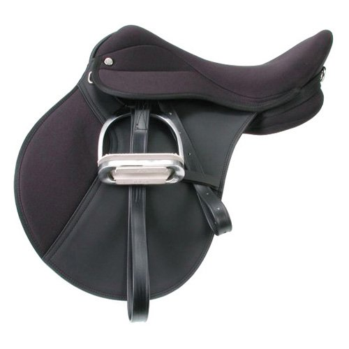 EquiRoyal Wide Tree Youth Pro Am All Purpose Saddle