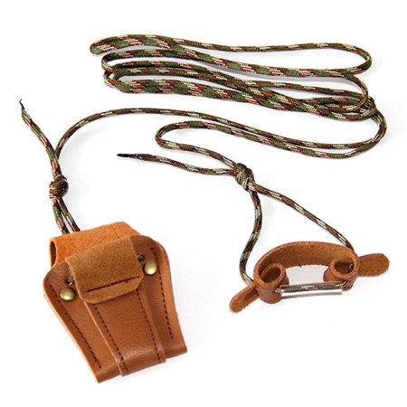 Cowhide Archery Bowstring Install Tool Rope Cord Recurve Long Bow Stringer String Hunter Color:brown
