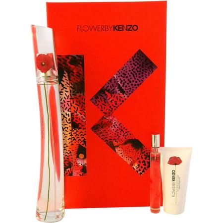 Kenzo Flower Gift Set, 3 pc