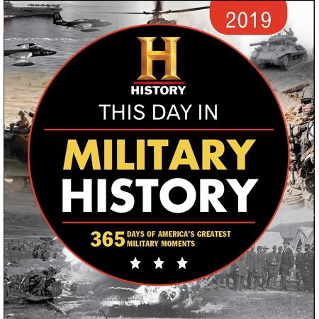 State Wall Calendar (2019 History Channel This Day in Military History Boxed Calendar)