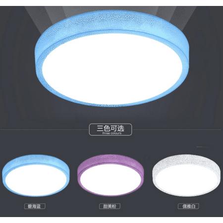 12W Round Ceiling Mount Lights Bedroom Hanging Lamp Home Room Fixture Lighting ()