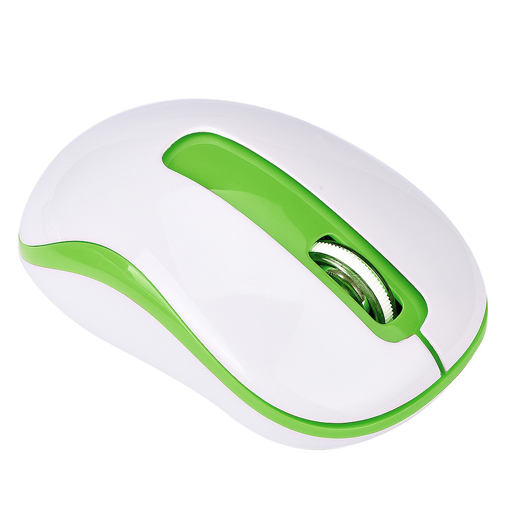 DZT1968 2.4G 1600DPI Optical Mini Wireless Mouse Mice For Laptop PC