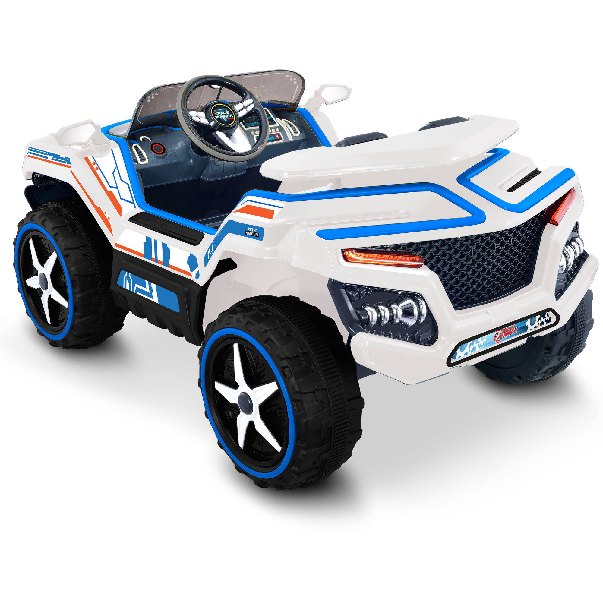 Kid Motorz 12V Dune Runner Two-Seater Ride-On, Space Version