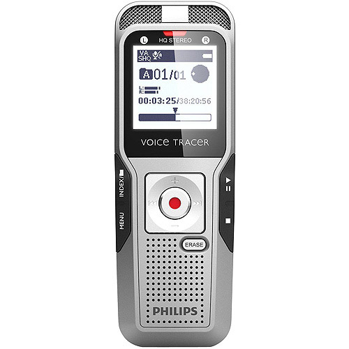 Philips Digital Recorder w Headset Black