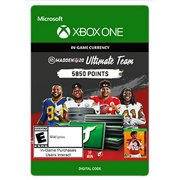 MADDEN NFL 20 ULTIMATE TEAM™ 5850 MADDEN POINTS, Electronic Arts, Xbox, [Digital Download]
