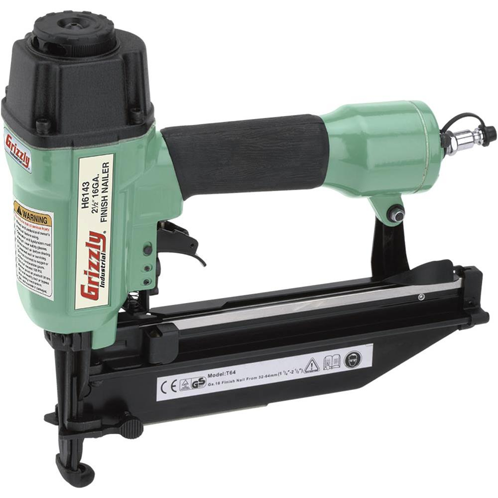 "Grizzly H6143 2-1 2"" Finish Nailer by"