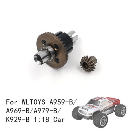 Gear Differential Case - Smart Novelty Upgrade Metal Differential Gear For WLTOYS A959-B/A969-B/A979-B/K929-B 1:18 Car