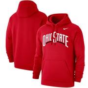 Ohio State Buckeyes Nike Logo Pullover Hoodie - Scarlet