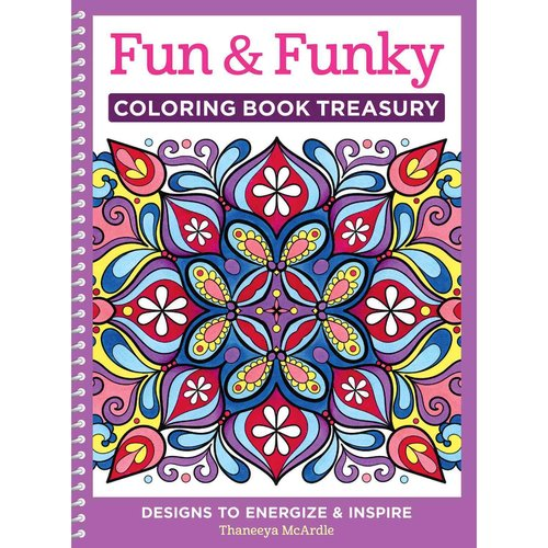 Fun & Funky Adult Coloring Book: Designs to Energize & Inspire