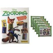 Panini Disney Zootopia Sticker Album PLUS 5 Sticker Packs