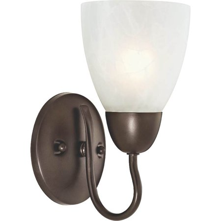 1 Bulb Brz Wall Fixture (Boston Harbor 1 Lt Wall Sconce Ven Brz A2242-7-VB )
