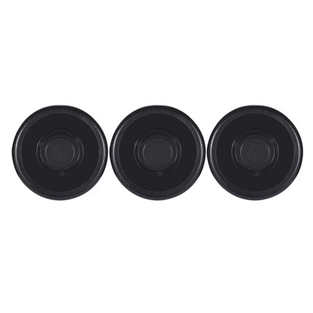 3pcs Footswitch Topper Protector ABS Bumpers for Guitar Effect Pedal Black - image 4 de 4