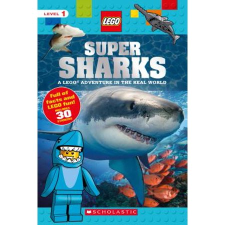Super Sharks : A Lego Adventure in the Real World