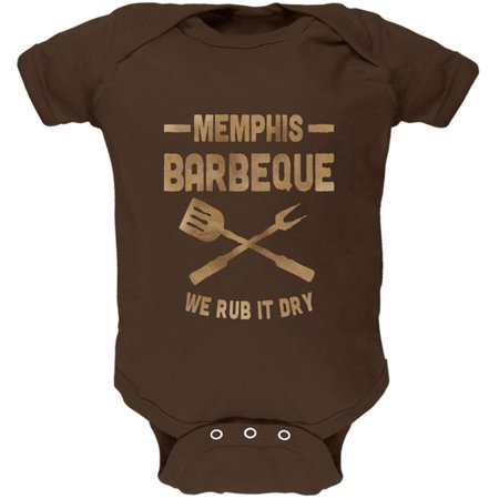 Memphis Barbeque Rub It Dry Soft Baby One Piece