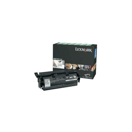 ~Brand New Original LEXMARK X651H11A High Yield Laser Toner Cartridge Black for Lexmark / IBM X658DTE - image 1 of 1