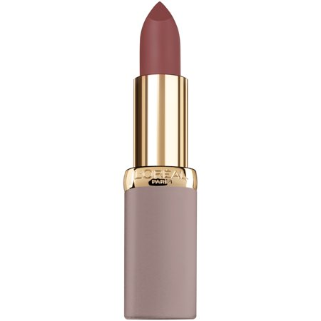 L'Oreal Paris Colour Riche Ultra Matte Highly Pigmented Nude Lipstick, Bold Mauve (Linda Nude)