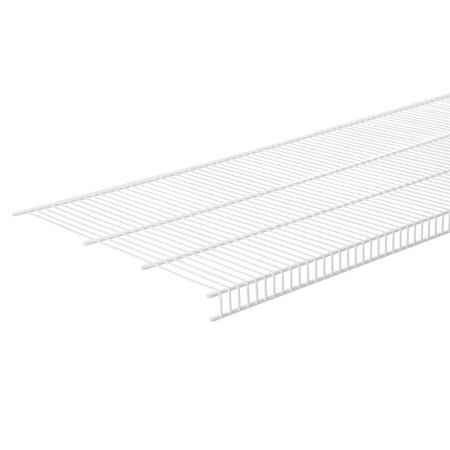 Mesh Shelf - 1396 Close Mesh Wire Shelf, 72 inch x 20-Inch, Can be installed using fixed mount or ShelfTrack® hardware system. By ClosetMaid